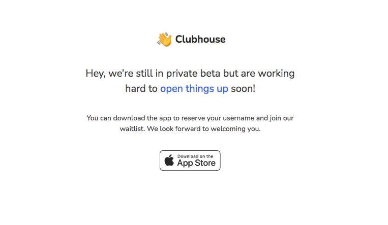 Join Clubhouse App